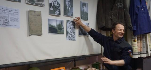 Представители МРОО «Историко-исследовательского поискового клуба «Артефакт» провели для курсантов познавательную лекцию-беседу в рамках Дня памяти жертв политических репрессий в СССР