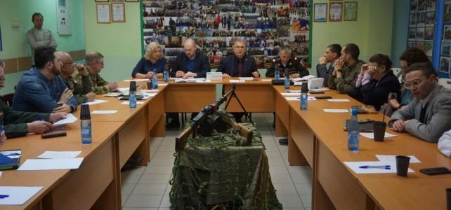 Члены координационного молодежного совета обсудили развитие военно-патриотического и гражданского воспитания.