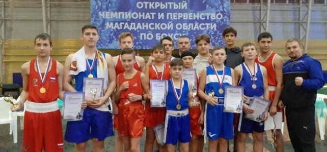 Участие команды центра «Подвиг» в Открытом первенстве Магаданской области по боксу.