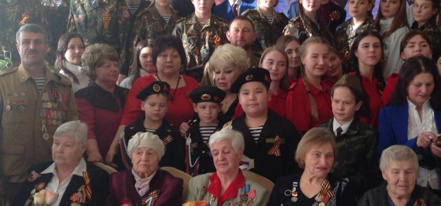 Курсанты МБУДО «МВСТЦ «Подвиг» приняли участие в торжественном ежегодном мероприятии «Встреча трех поколений»,  посвященном Дню защитника Отечества