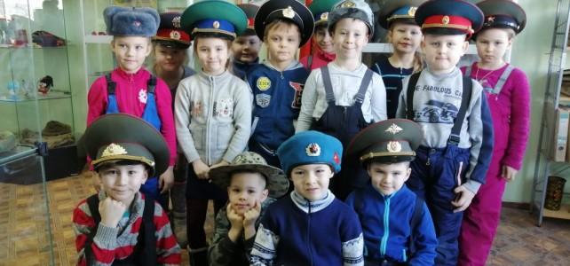 19 февраля гостями Подвига стали воспитанники МБДОУ «Детский сад № 59»