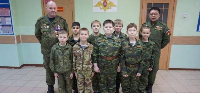 Час мужества с участником боевых действий в Чеченской республике.