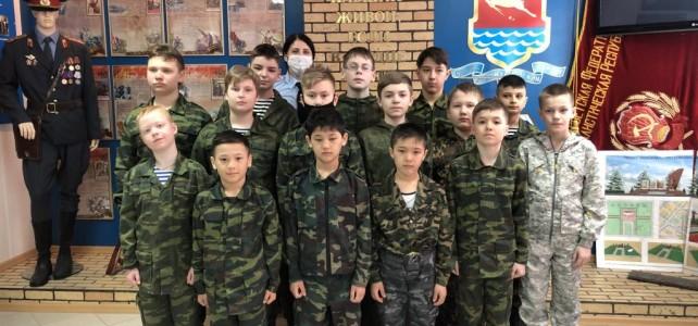 Курсанты центра «Подвиг» посетили Центр профессиональной подготовки УМВД России по Магаданской области