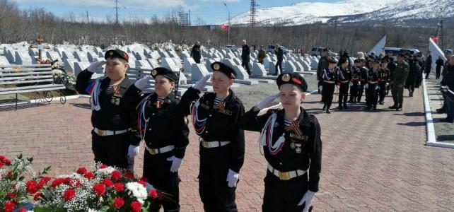 Курсанты центра «Подвиг» отметили 76-ю годовщину Дня Победы