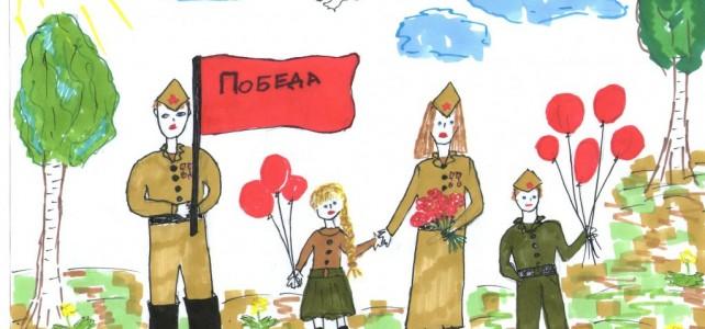 Участие курсантов во Всероссийской гражданско-патриотической акции «Рисуем Победу»