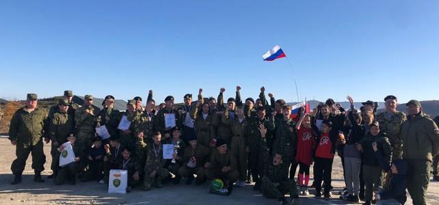 Центр «Подвиг» провел I открытую городскую военно-спортивную игру «Будущее России»