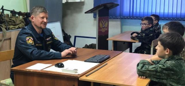 Центр «Подвиг» посетил начальник Магаданского филиала ДРВПСО МЧС России П.А. Клочков
