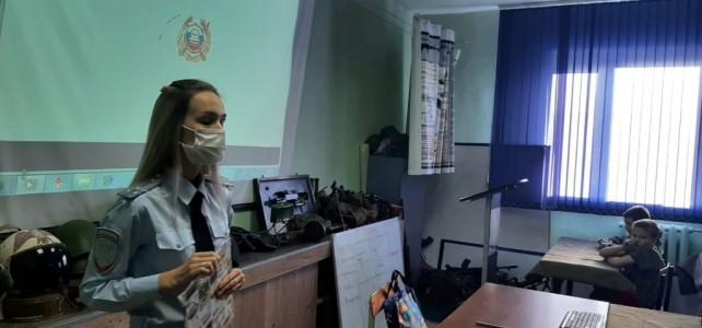 Центр «Подвиг» посетили сотрудники Госавтоинспекции МВД России