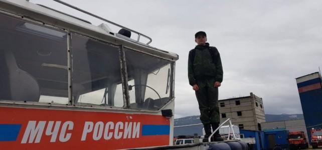 Экскурсия в Поисково-спасательный отряд МЧС России.